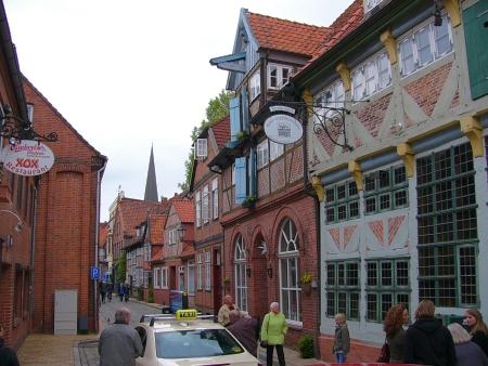 Schöne Fachwerkhäuser aus dem 13. Jahrhundert
