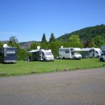 Besuch bei den Campingbus-Rockern