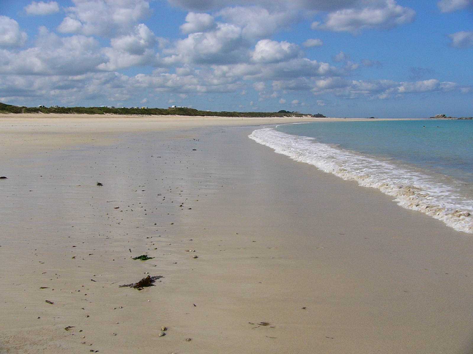 Südsee in der Bretagne und mit Meerblick auf der Düne