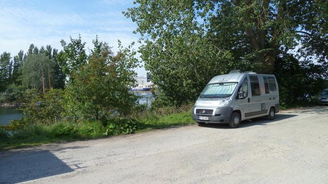 Klein und kompakt findet immer noch eine schöne Lücke - SP Flensburg am Industriehafen
