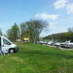 Stellplatz in Brachwitz direkt an der Saale