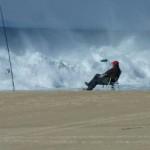 """Wellen, Brandung und noch mehr Sonne am """"Praia da Fonte do Cortiço"""""""