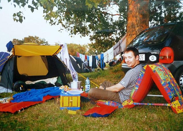 Campingplatz Loissin Ostsee Juli 2001