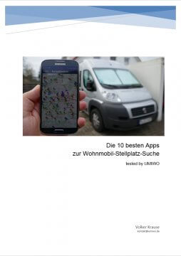 +++ NEUES E-Book von UMIWO +++ Wohnmobil Stellplatz App Testvergleich 2017