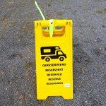 Ab 1.7.2018 Pflicht: Gelbe Parkschilder für Wohnmobile