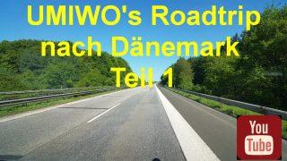 Unser Dänemark Roadtrip auf YouTube - Teil 1 - von Hannover an die dänische Grenze