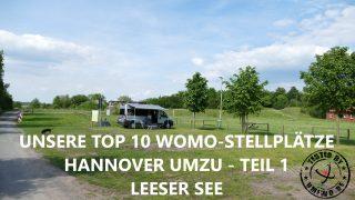 Leeser See - Unsere Top 10 Wohnmobil Stellplätze Hannover umzu