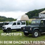 Besuch beim Dachzelt Festival 2018 – YouTube Video UMIWO Roadtrips