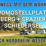 Womostellplatz Blomberg und Spaziergang am Schiedersee