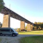 Herbsttour 2018 – Teil 1 – Werraschleife und Stellplatz bei Lindewerra