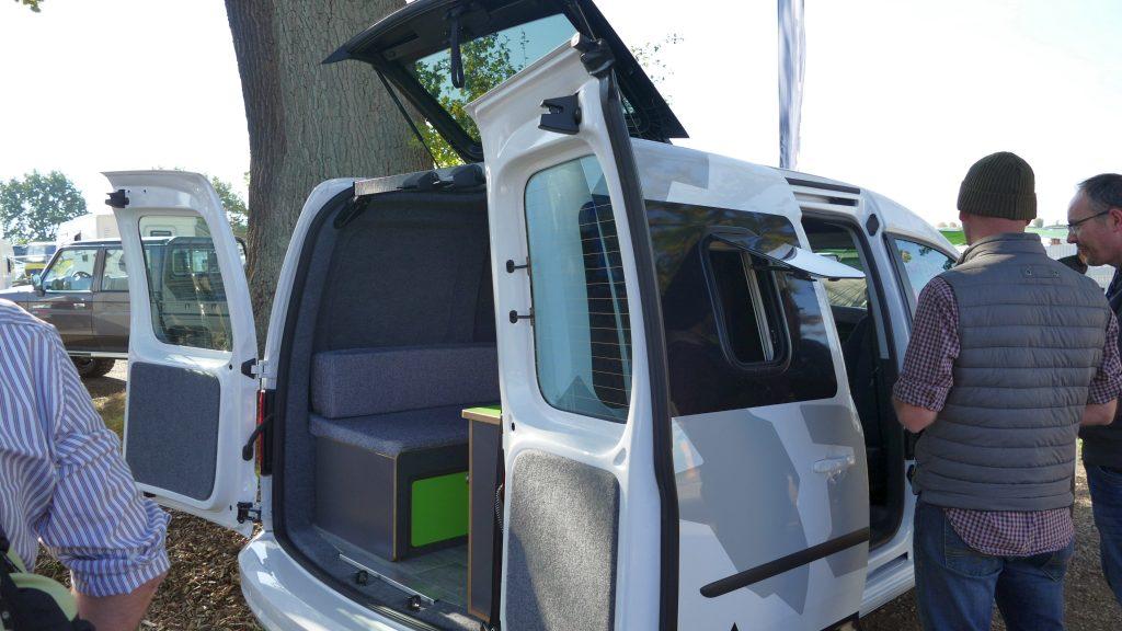Mini-Wohnmobil VW Caddy Alpin Camper