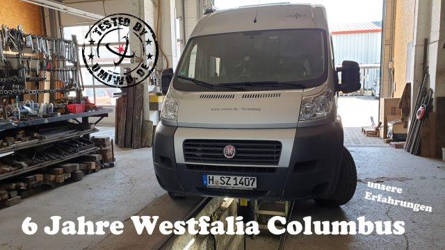 tested by UMIWO - 6 Jahre Westfalia Columbus 600 D - unsere Erfahrungen