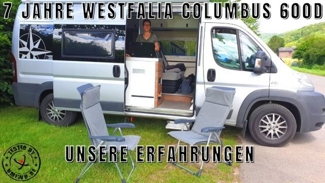 tested by UMIWO - 7 Jahre Westfalia Columbus 600 D - unsere Erfahrungen