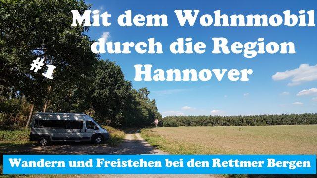 Mit dem Wohnmobil durch die Region Hannover | Wandern und Freistehen bei den Rettmer Bergen