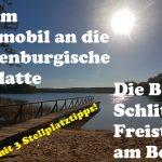 Mit dem Wohnmobil an die Mecklenburgische Seenplatte|Teil 6| Burg Schlitz & Freistehen am Bergsee