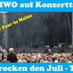 Wir rocken den Juli – UMIWO auf Konzerttour mit Stellplatztipps Teil 1