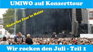 Wir rocken den Juli - UMIWO auf Konzerttour mit Stellplatztipps Teil 1