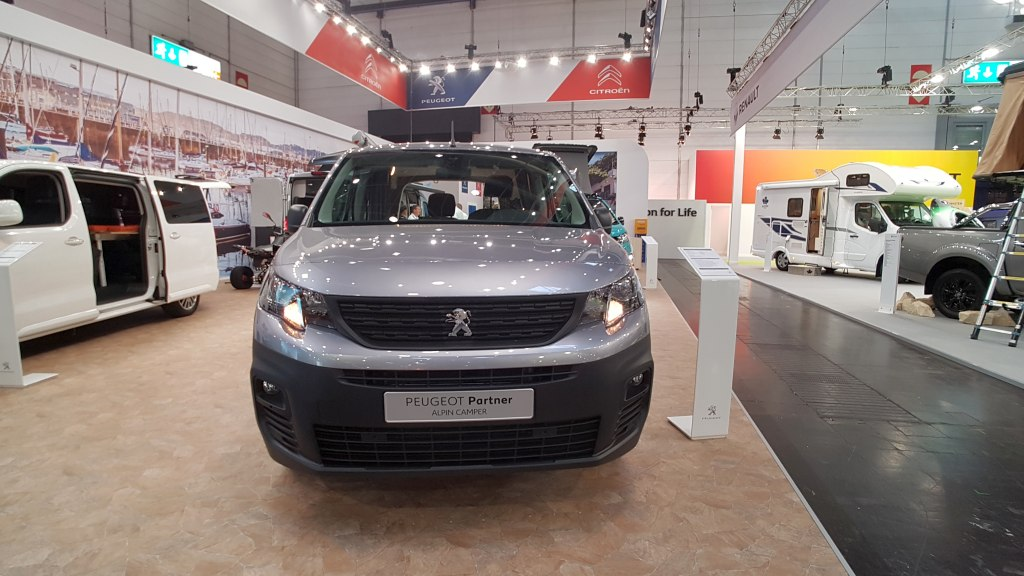 Peugeot Alpin Camper Partner