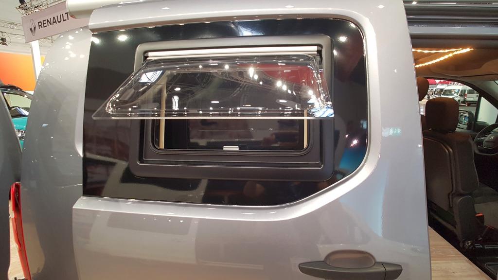 Peugeot Partner Minicamper Schiebetür mit Austellfenster