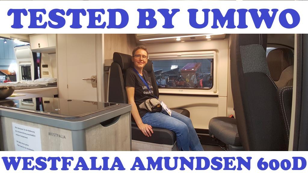 tested by UMIWO - Vorstellung Westfalia Amundsen 600D Modelljahr 2020 Caravan Salon Düsseldorf