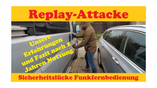 Replay-Attacke Thitronik Erfahrungen Fazit