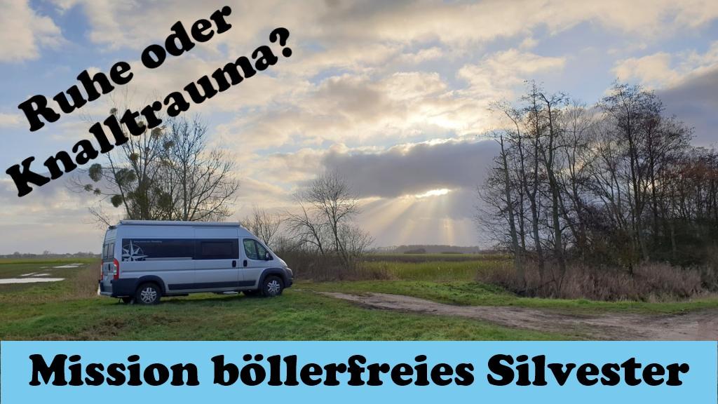 böllerfreies Silvester Hund Tierschutz Camping Drömling