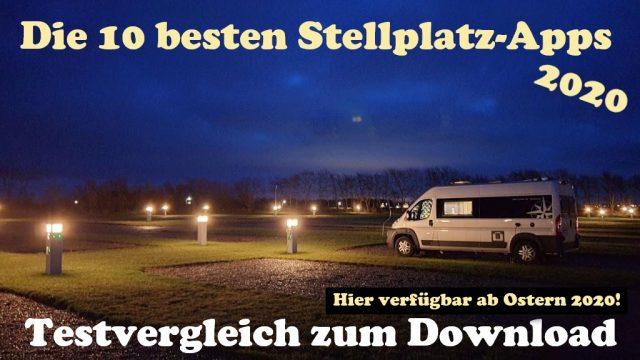 camping stellplatz apps wohnmobil test vergleich ostern 2020