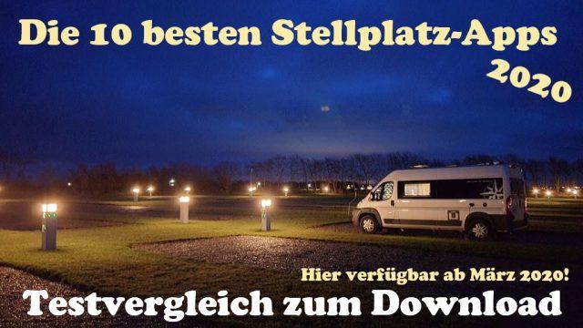 stellplatz apps wohnmobil test vergleich