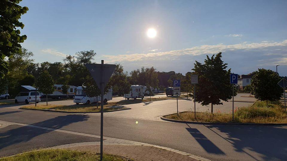 Elbtalauen Hitzacker Wohnmobil Stellplatz an den Bleichen
