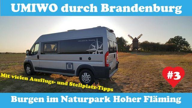 UMIWO durch Brandenburg – Burgen im Naturpark Hoher Fläming