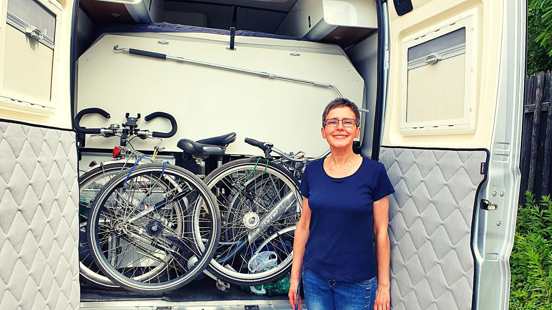Westfalia Columbus Heckbatt klappbar Fahrradtransport