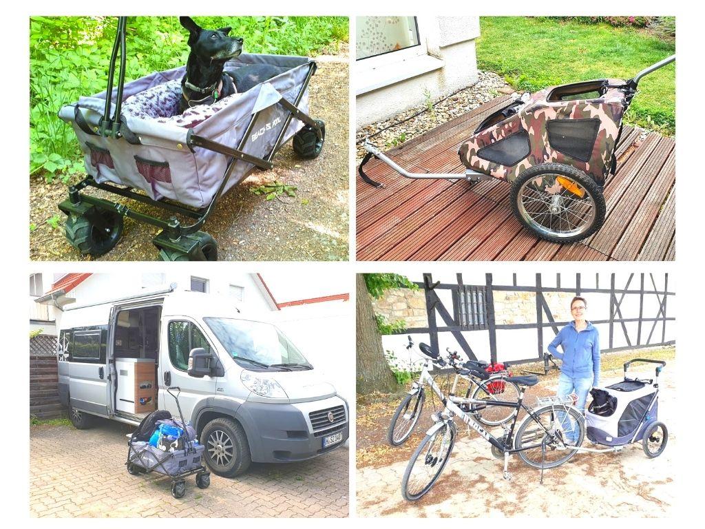 Busbiker Fahrradträger Hundeanhänger
