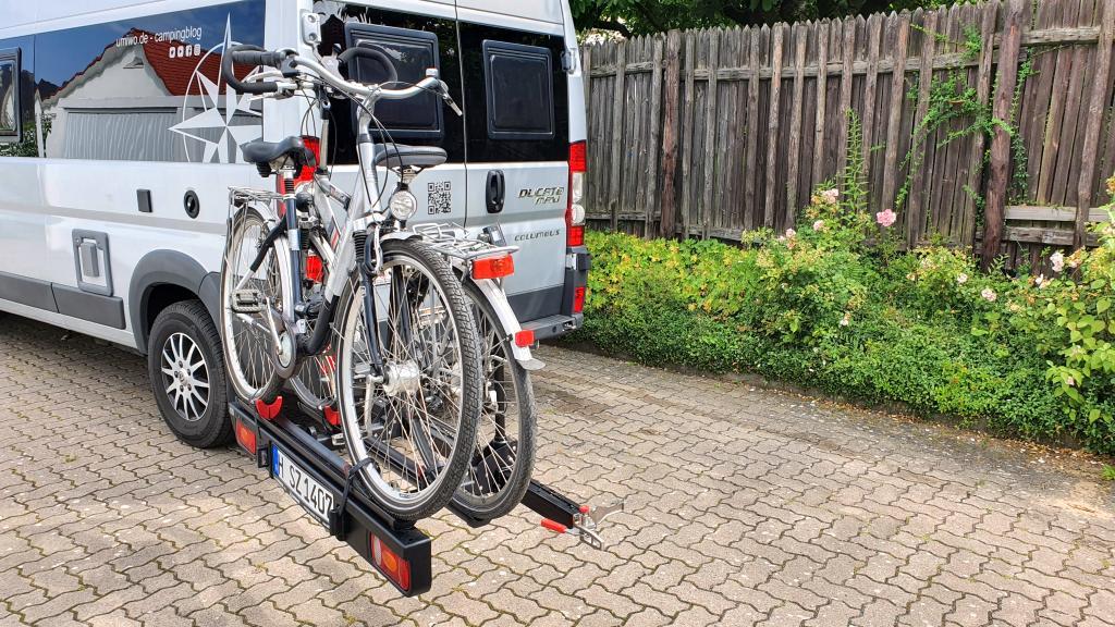 Busbiker Fahrradträger Montage Autohaus Benkel