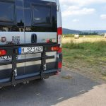 Busbiker XM290  unser neuer schwenkbarer Fahrradträger tested by UMIWO